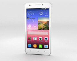 3D model of Huawei Ascend G620S White
