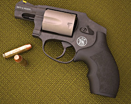 Smith & Wesson Model 340PD 3Dモデル