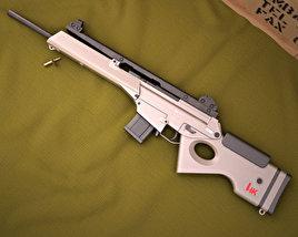 Heckler & Koch SL8 Modelo 3d