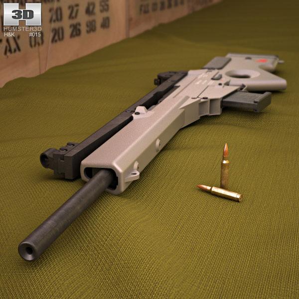Heckler & Koch SL8 3d model