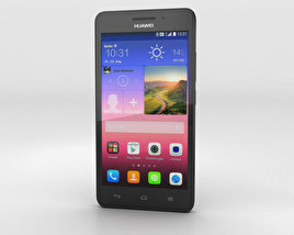 3D model of Huawei Ascend G620S Black