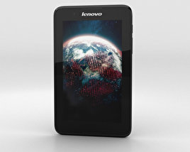 3D model of Lenovo A7-30 A3300 Black