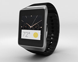 Samsung Gear Live Black 3D model