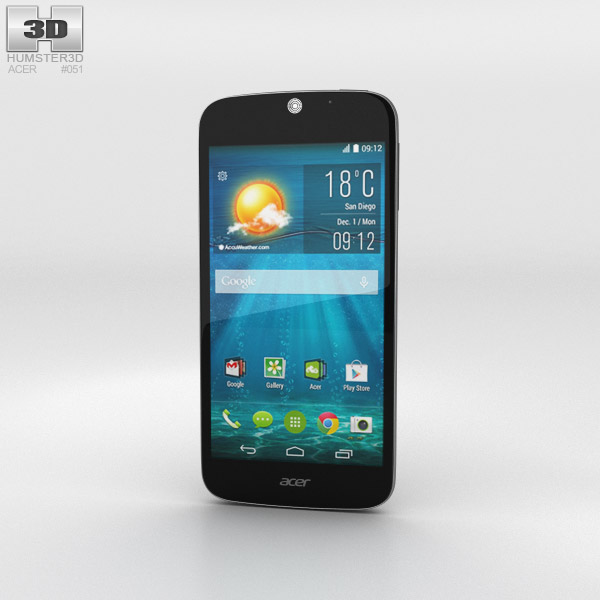 Acer Liquid Jade S Black 3D model