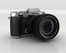 3D model of Fujifilm X-T1 Silver
