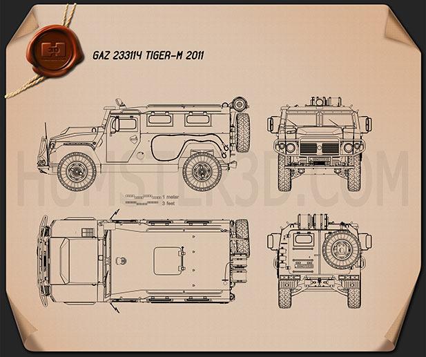 Armored Car Blueprint Download