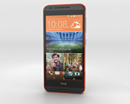 HTC Desire 620G Saffron Gray 3D model