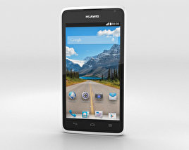 3D model of Huawei Ascend Y530 White