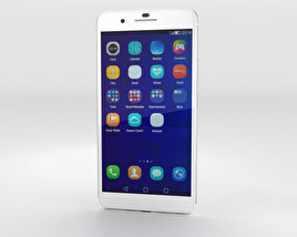 3D model of Huawei Honor 6 Plus White