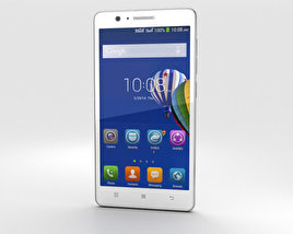 3D model of Lenovo A536 White