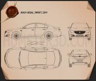 Buick Regal 2014 Blueprint