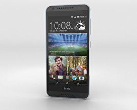 3D model of HTC Desire 620G Milkyway Gray
