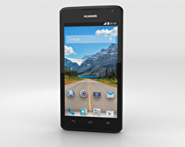 3D model of Huawei Ascend Y530 Black
