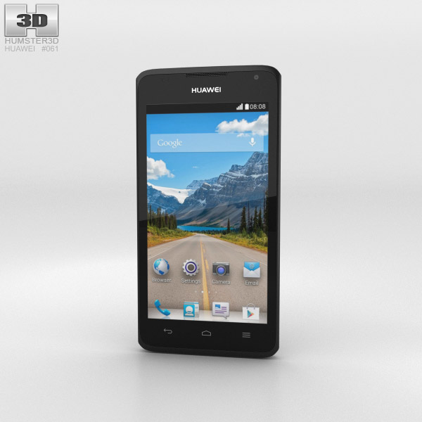 Huawei Ascend Y530 Black 3D model