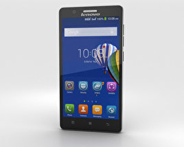 3D model of Lenovo A536 Black
