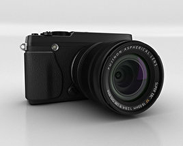 3D model of Fujifilm X-E1 Black