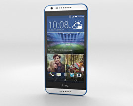 3D model of HTC Desire 620G Santorini White