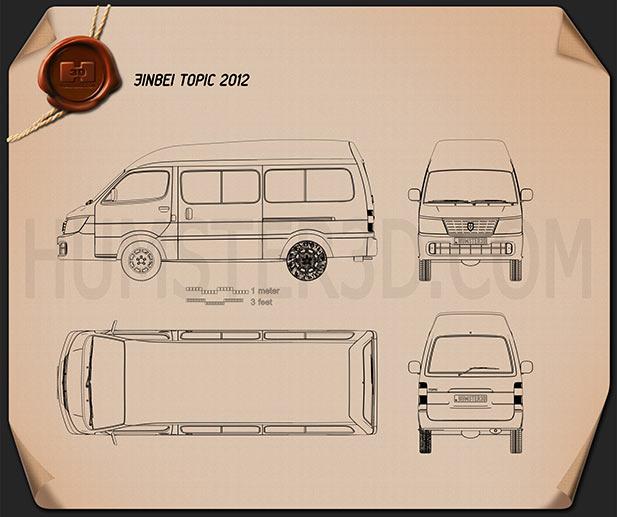Jinbei Topic 2012 Blueprint