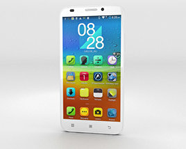 3D model of Lenovo A916 White