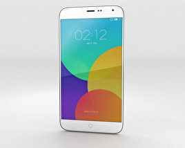 3D model of Meizu MX4 White
