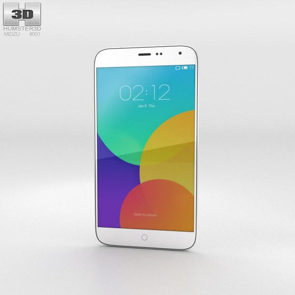 3D model of Meizu MX4 White