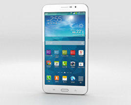 3D model of Samsung Galaxy W White