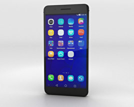 3D model of Huawei Honor 6 Plus Black