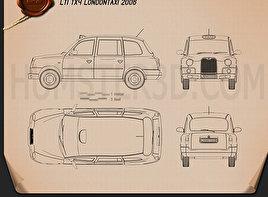 LTI TX4 London Taxi Blueprint