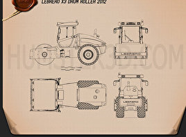 Lebrero X3 Drum Roller 2012 Blueprint