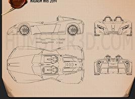 Magnum MK5 2014 Blueprint