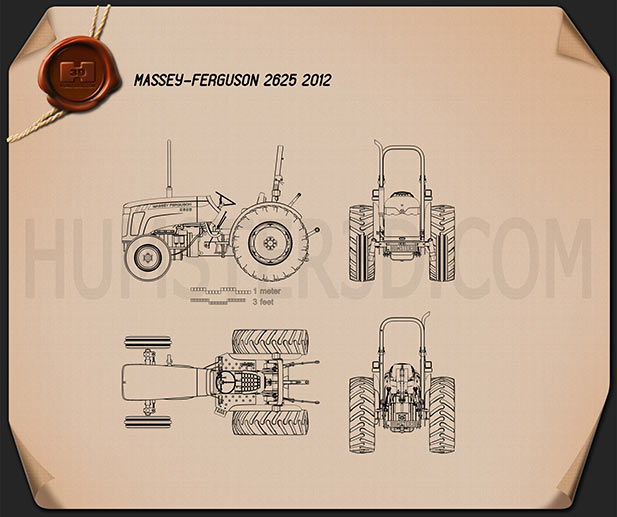 Massey-Ferguson 2625 2012 Blueprint