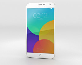 3D model of Meizu MX4 Gold