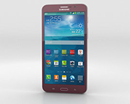 3D model of Samsung Galaxy W Red