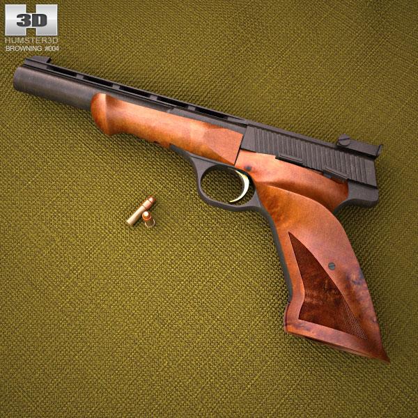 3D model of Browning Medalist .22 LR