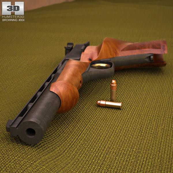 Browning Medalist .22 LR 3d model