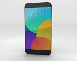 3D model of Meizu MX4 Gray