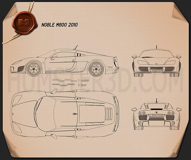 Noble M600 2012 Blueprint