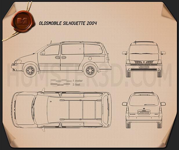 Oldsmobile Silhouette 2004 Blueprint