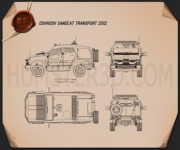Oshkosh Sand Chat Transport 2012 Plan
