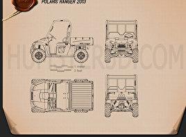 Polaris Ranger 2013 Blueprint
