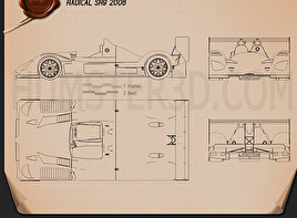 Radical SR9 2006 Blueprint