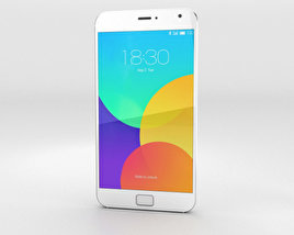 3D model of Meizu MX4 Pro White