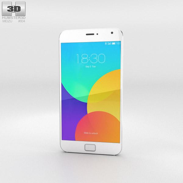 Meizu MX4 Pro White 3D model