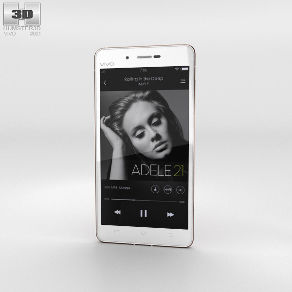 Vivo X5Max White 3D model