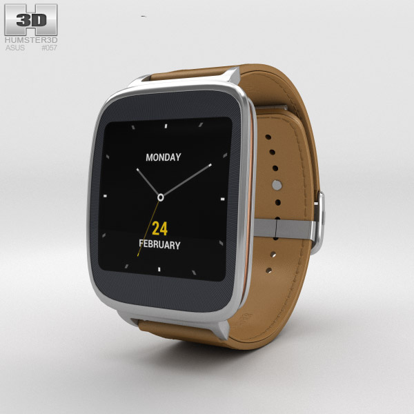 3D model of Asus ZenWatch Brown