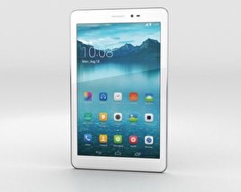 3D model of Huawei Honor Tablet White