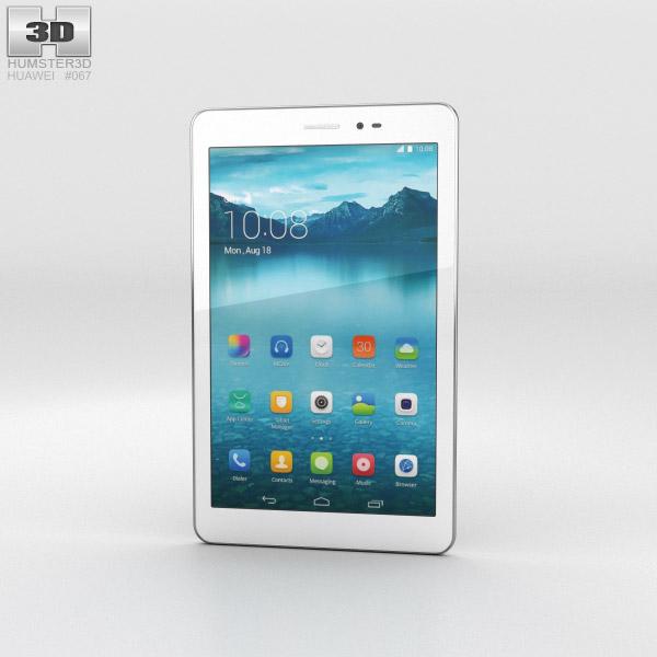 Huawei Honor Tablet White 3D model