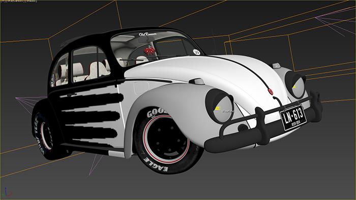 process of rendering