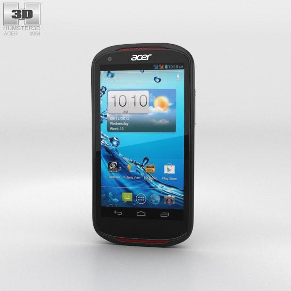 Acer Liquid E1 Black 3D model