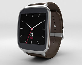 3D model of Asus ZenWatch Dark Brown